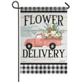 Flower Delivery Garden Flag, Small