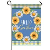 Daisy Wreath Garden Flag, Small