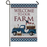 Load Of Hens Garden Flag, Small