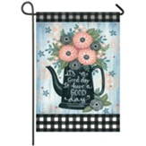 Buffalo Watering Can Garden Flag, Small