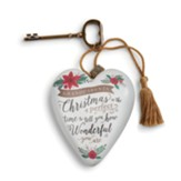 Grandparents, Christmas, Art Heart