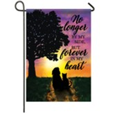 Forever In My Heart Garden Flag, Small