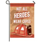 Firefighter Garden Flag, Small