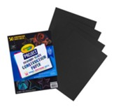 Crayola Project Premium Black Construction Paper, 50 Sheets