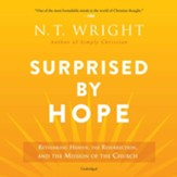 Surprised by Hope: Rethinking Heaven, the Resurrection, and the Mission of the Church - unabridged audiobook on MP3-CD