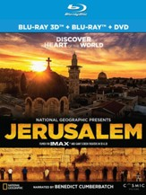National Geographic Presents: Jerusalem DVD/3D Blu-ray Combo