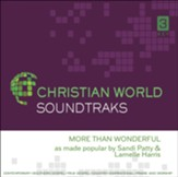 More Than Wonderful, Accompaniment CD