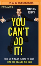 You Can't Do It!-Unabridged Audiobook on MP3-CD