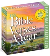 365 Bible Verses-A-Year, 2020 Page-A-Day Calendar