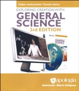 Exploring Creation with General Science Video  Instruction Thumb Drive (3rd Edition)