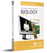 Exploring Creation with Biology Video Instruction  on Thumb Drive (3rd Edition)