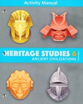 BJU Press Heritage Studies Grade 6 Student Activity Manual  (4th Edition)