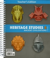 BJU Press Heritage Studies Grade 6 Teacher's Edition with  CD-ROM (Fourth Edition)