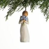 Willow Tree, Holding Thoughts of You Closely, Forget-me-not, Ornament