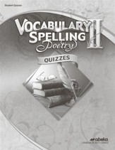 vocabulary & Spelling II Quizzes