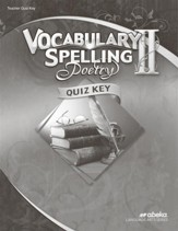 Vocabulary & Spelling II Quizzes Key