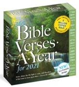 365 Bible Verses A Year Page A Day Calendar For 2021