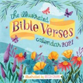 The Illustrated Bible Verses Wall Calendar for 2021