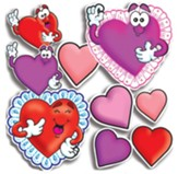 Valentines and Hearts Accent Punch-Outs