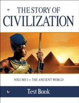 The Story of Civilization Vol. I,  Test Book