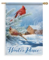 Winter Peace Flag, Large