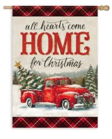 All Hearts Come Home For Christmas, Large Flag
