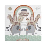 Noah's Ark Photo Swaddle Blanket
