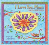 I Love You, Mom, 2022 365 Daily Thoughts Mini Desk Calendar