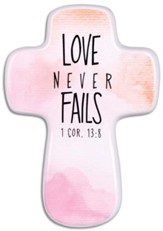 Love Never Fails, Cross