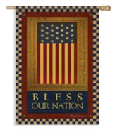 Bless Our Nation (Constitution) Large Flag