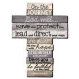 On The Journey, Cross Wall Art, Large