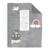 Noah's Ark Blanket, Grey