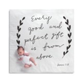 Gift From Above Photo Swaddle Blanket