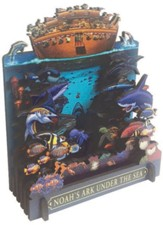 Noah's Ark Under the Sea 3D Wood Puzzle