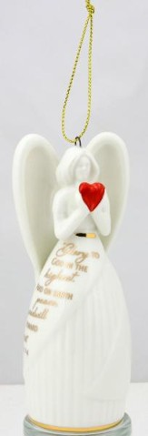 Glory To God (Luke 2:14), Angel Bell Ornament