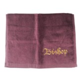 Bishop Pastor Towel, Burgundy