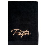 Pastor Towel, Black