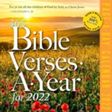 365 Bible Verses-A-Year Page-A-Day Calendar, 2022 Edition