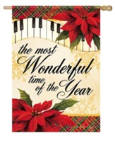 The Most Wonderful Time of Year, Song of the Season, Flag, Large