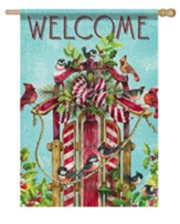 Welcome, Songbird Sled, Flag, Large