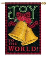 Joy To the World, Beautiful Bells, Flag, Large