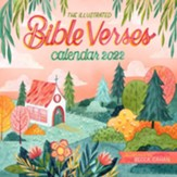 The Illustrated Bible Verses Wall Calendar for 2022
