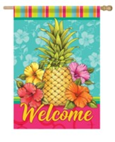 Welcome, Cabana Brights, Flag, Large