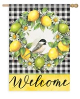 Welcome, Grove Songbird, Flag, Large