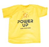 Power Up: Youth T-Shirt, Youth Large