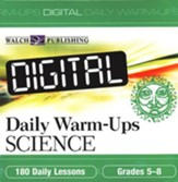 Digital Daily Warm-Ups, Science, Grades 5-8