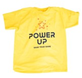 Power Up: Youth T-Shirt, Adult Large