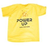 Power Up: Youth T-Shirt, Adult Medium