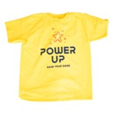 Power Up: Youth T-Shirt, Adult Small