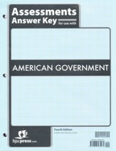 American Government Assessments Answer Key (4th Edition)